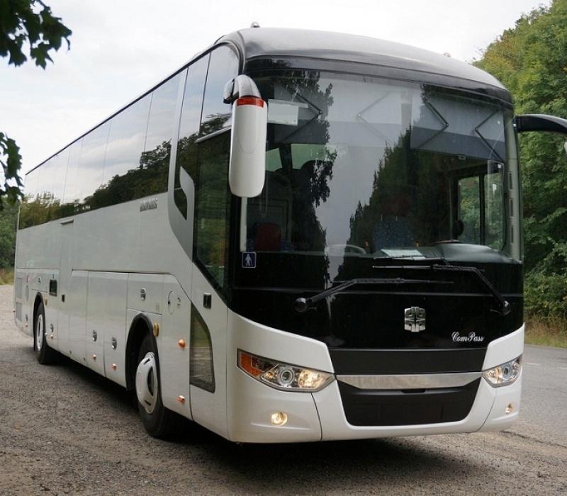 Аренда автобуса Zhong Tong LCK6127 с водителем в Казани