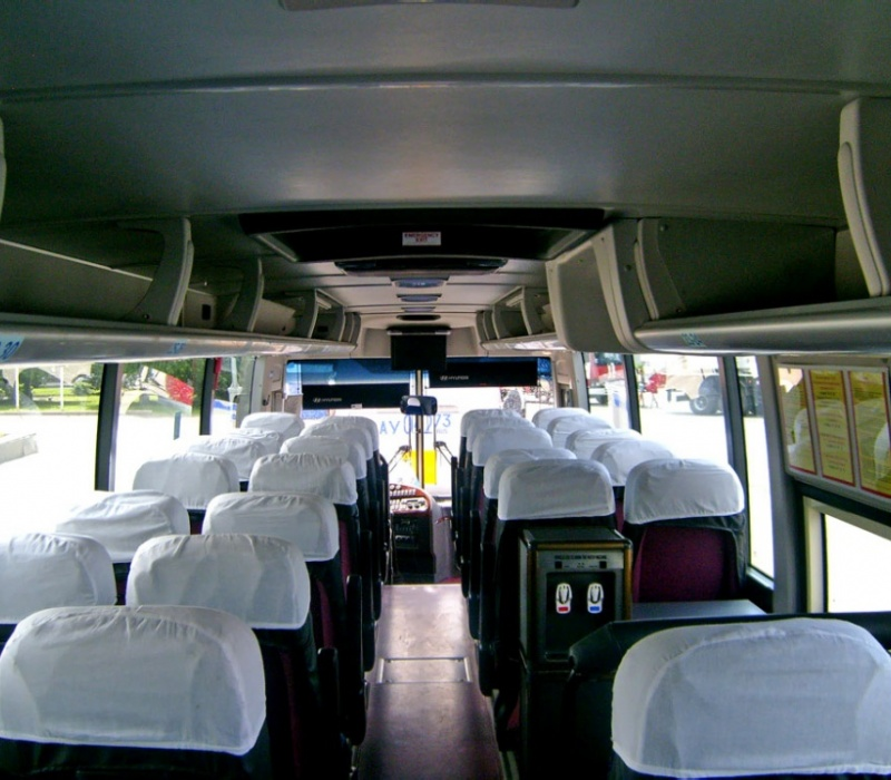 Аренда автобуса Hyundai Universe Luxury с водителем в Казани