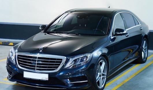 Аренда автомобиля Mercedes-Benz S-class (222) с водителем в Казани