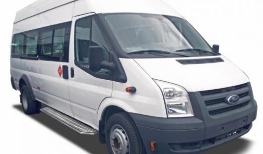 Аренда микроавтобуса Ford Transit с водителем в Казани