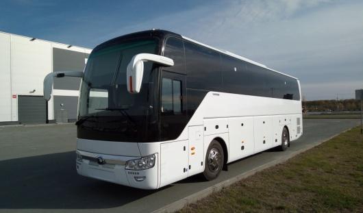Аренда автобуса Yutong ZK6122H9 с водителем в Казани