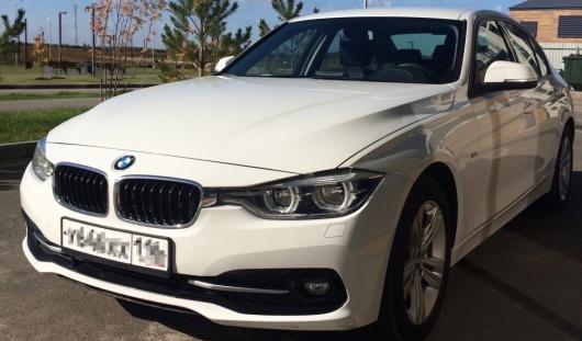 Аренда BMW 3-series с водителем в Казани