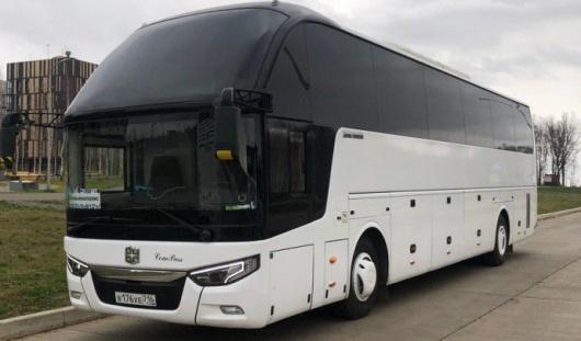 Аренда автобуса с водителем в Казани
