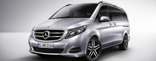 Минивэн на свадьбу Mercedes-Benz Vito