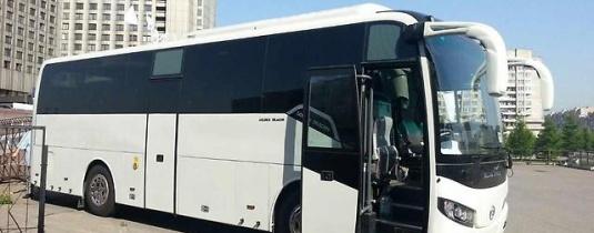 Вахтовый автобус Golden Dragon